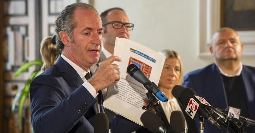 Referendum Veneto: con richiesta Statuto speciale Zaia stravolge voto, dice Santini (PD)